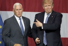 Mike Pence shun President's send-off ceremony, Trump's aides, Vice President Mike Pence shun President's send-off ceremony, Premium News24