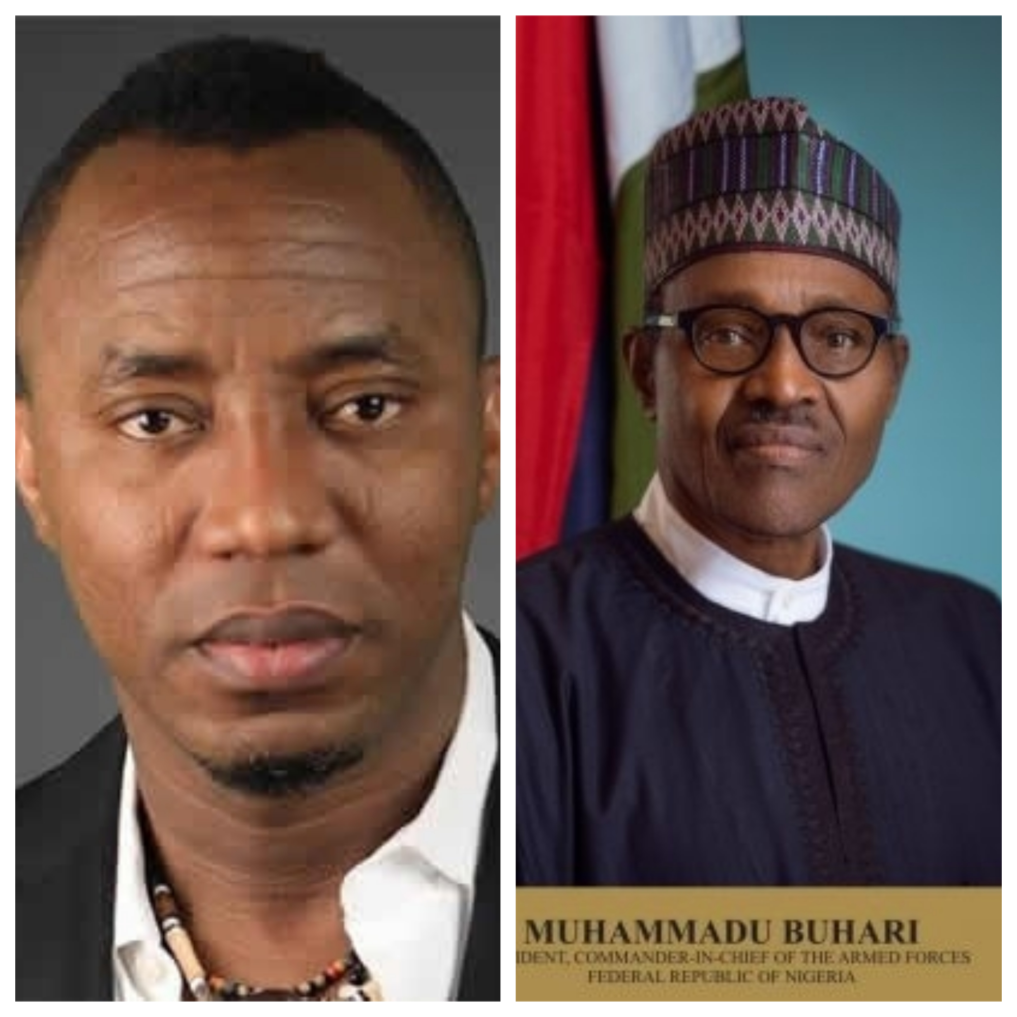 Buhari must go – Sowore reacts to assassination attempt on Ortom