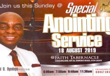Winners' Chapel 18 August 2019 Live Service with David Oyedepo