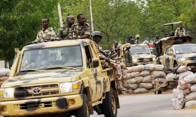 Boko Haram members attacks Nigerian military convoy