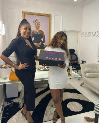 Goodnews for Titians as Tacha bags endorsement deal with Dabota Cosmetics