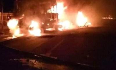 Fire razes Benin market, EPDA office complex