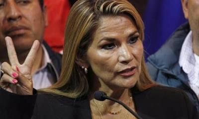 Jeanine Áñez declares herself interim president
