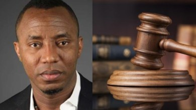 Judge withdraws from Omoyele Sowore's suit