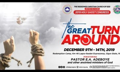 RCCG Holy Ghost Congress 2019 Live Broadcast - Day 3