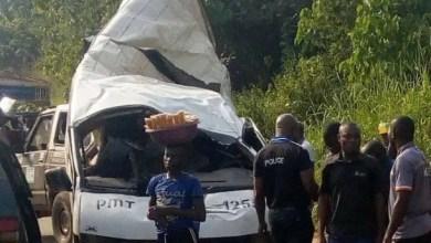 Peace Mass Transit Benin-Ore accident