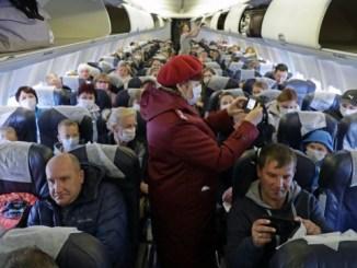 83 Britons leave China on coronavirus rescue flight