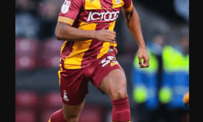 Bradford City player, Tyrell Robinson sacked