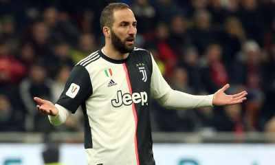 Higuain leaves Juventus quarantine