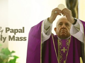Sunday Mass 17 May 2020 by Pope Francis
