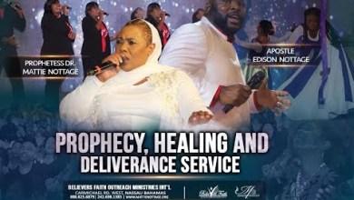 Midnight Prayer Healing & Deliverance Service with Apostle Edison & Prophetess Mattie Nottage