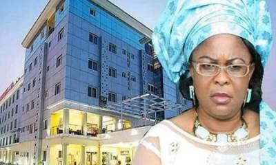 Patience Jonathan's 200-bed hotel to become isolation centre