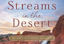 Streams in the Desert Devotional 29th November 2020