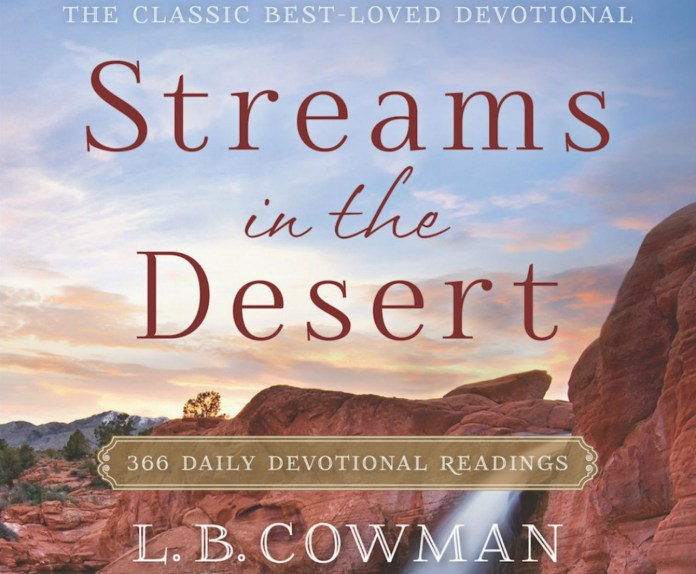 Streams in the Desert Devotional 4th November 2020, Streams in the Desert Devotional 4th November 2020 – The Captive, Premium News24