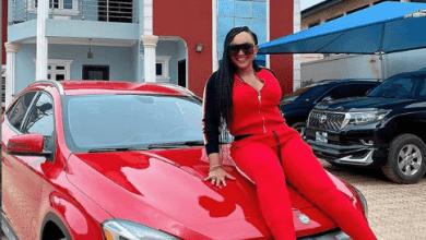 Mercy Aigbe acquires a new Mercedes Benz