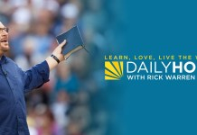 Daily Hope with Rick Warren Devotional 18 May 2021