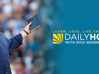 Rick Warren Daily Devotional 27 July 2021