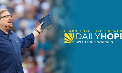 Rick Warren Daily Hope Devotional 1st December 2020 Message When you give from a heart for Jesus, your goal isn't to get a blessing
