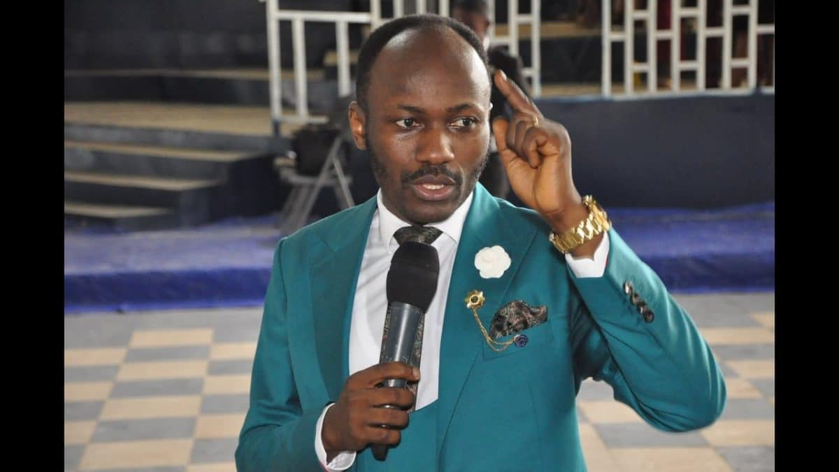 Apostle Suleman reacts to viral video of him praying COVID19 shouldn't end