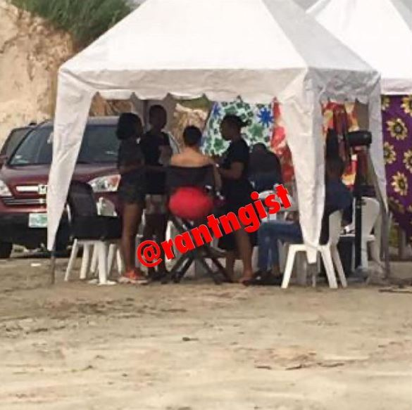 Nengi and Davido, Davido spotted shooting 'Jowo' music video with Nengi, Premium News24