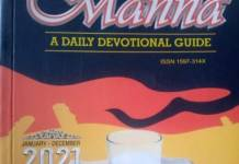 DCLM Daily Manna 19th May 2021 Devotional