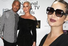 Amber Rose accuses boyfriend of cheating on her with 12 women