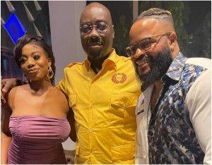 WhiteMoney, Angel meet billionaire businessman, Obi Cubana