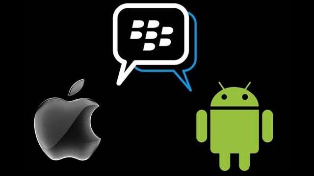 android ios bbm