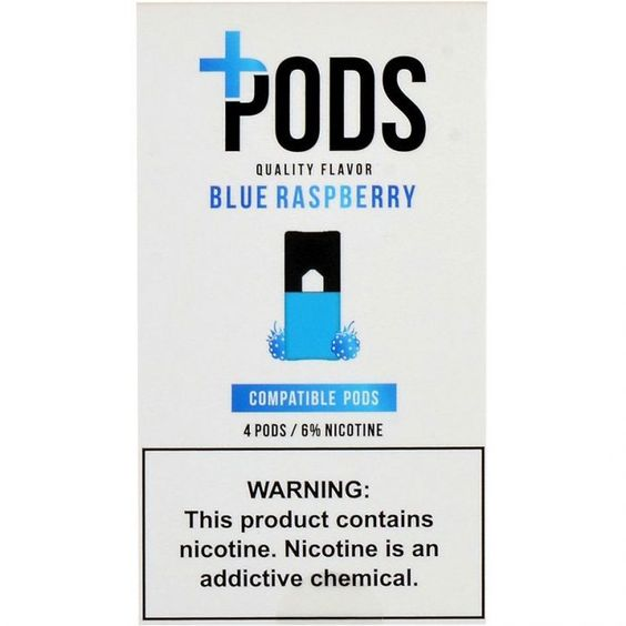 PLUS PODS Blue Raspberry 6%