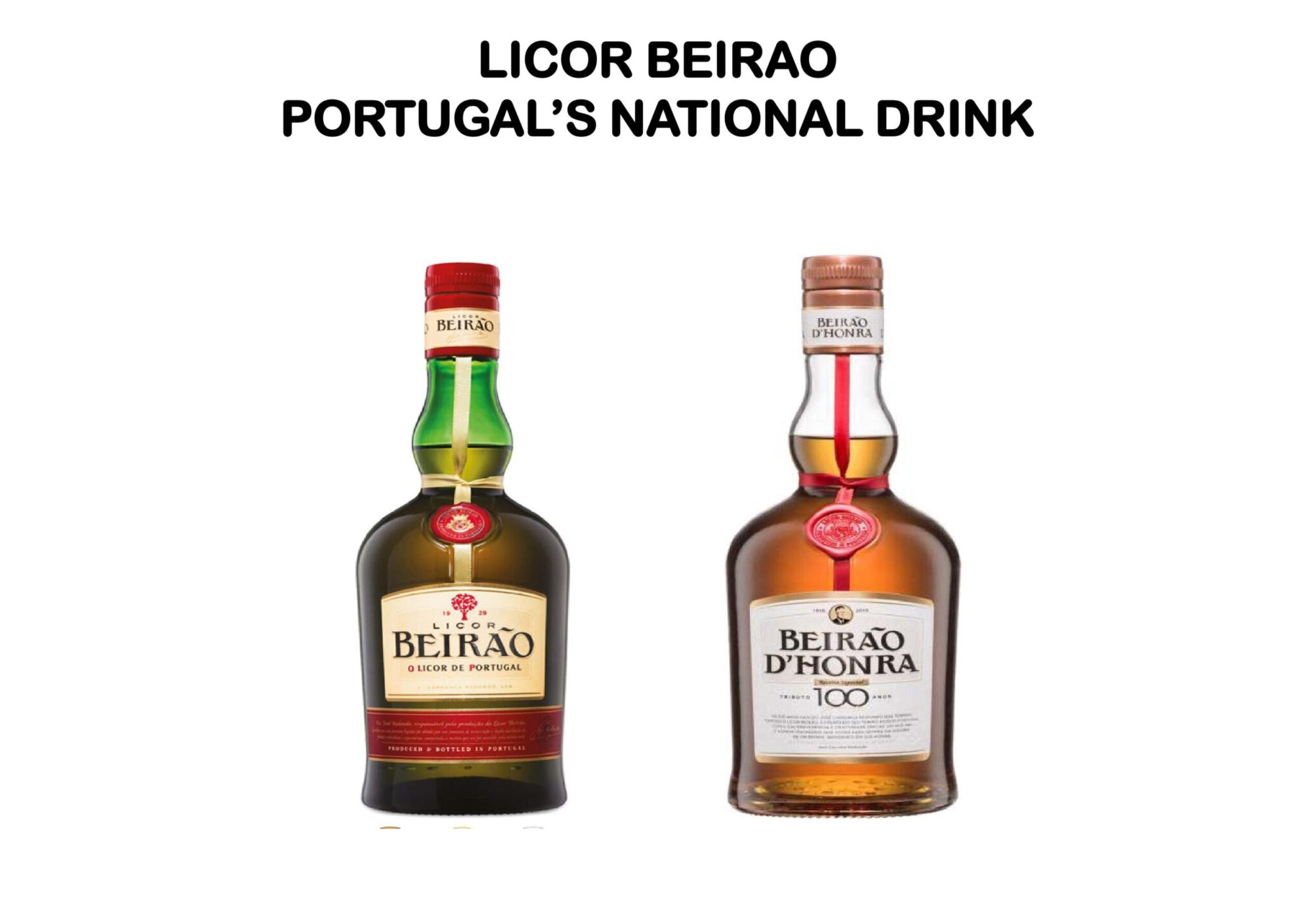 Licor Beirao Portugal's National Drink