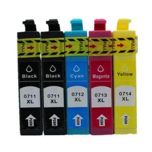 T0711-T0714 za Epson komplet 5 tinta (4 boje)