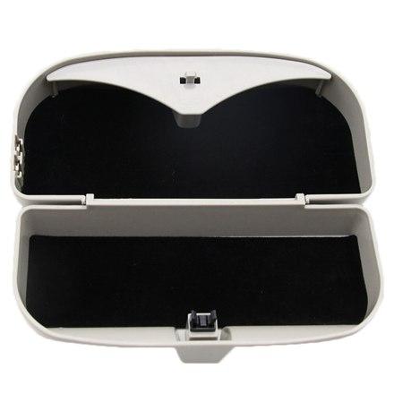 Multifunction Car Sun Visor Car Sunglasses Box Magnetic Setting For Vehicle Coin Car Card Clip Auto Sunglasses Holder Case