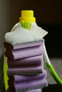Supplies needed to maintain your house clean during your move