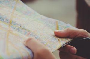 a map can help you plan a coast-to-coast move