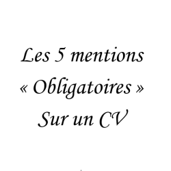 comment faire son CV