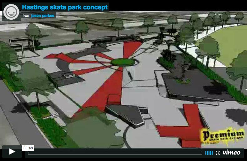 Hastings Skate Park Concept