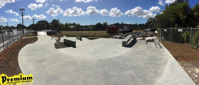 Collins Reserve Skate Park Update