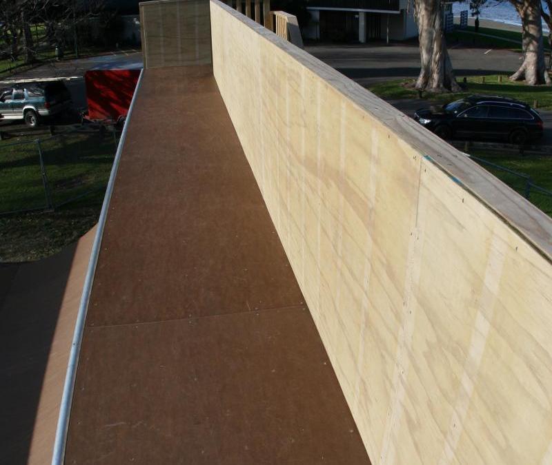 Tauranga Vert Ramp Upgrade