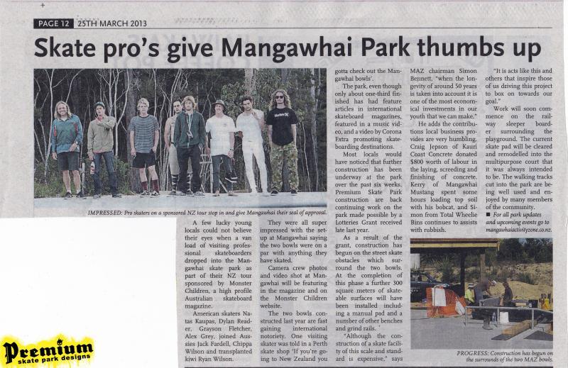 mangawhai news