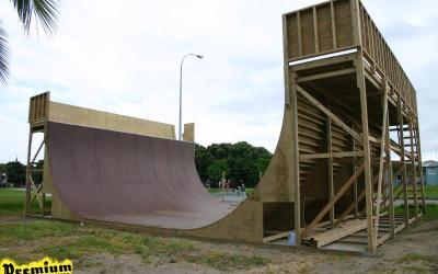 Gisborne Vert Ramp