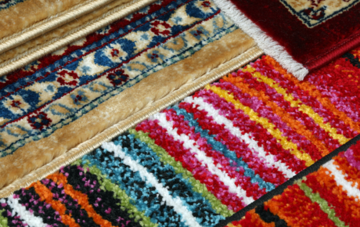 PSP Fibre protection for viscose rugs