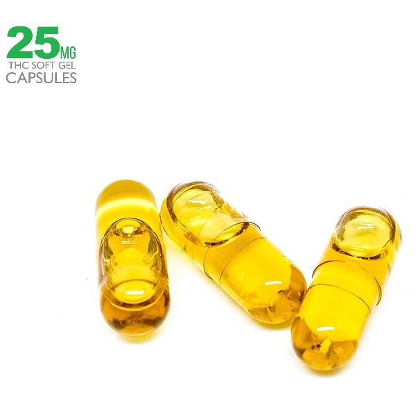 THC Hemp Seed Oil Capsules