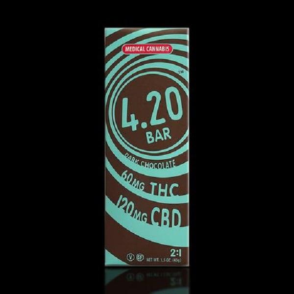 CBD Dark Chocolate 4.20 Bar