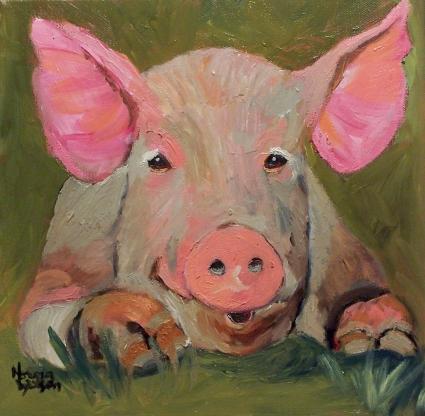 norma_wilson_original_oil_pig_farm_animals_portrait_art_11