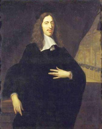 Jan de Baen, Portret van Johan de Witt