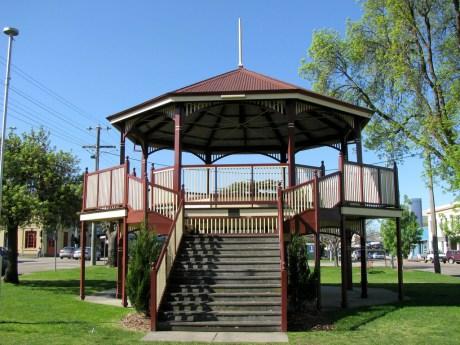 Garden Rotunda, Main Street Gardens Bairnsdale
