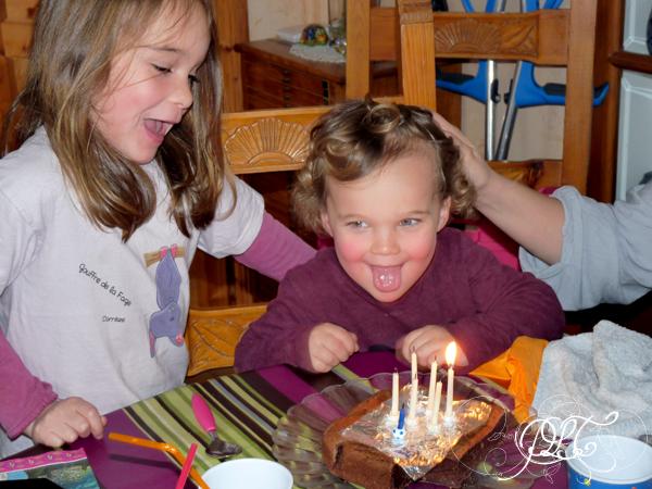 Prendre le temps - Titechérie et Tibonhomme à l'anniversaire de Papy