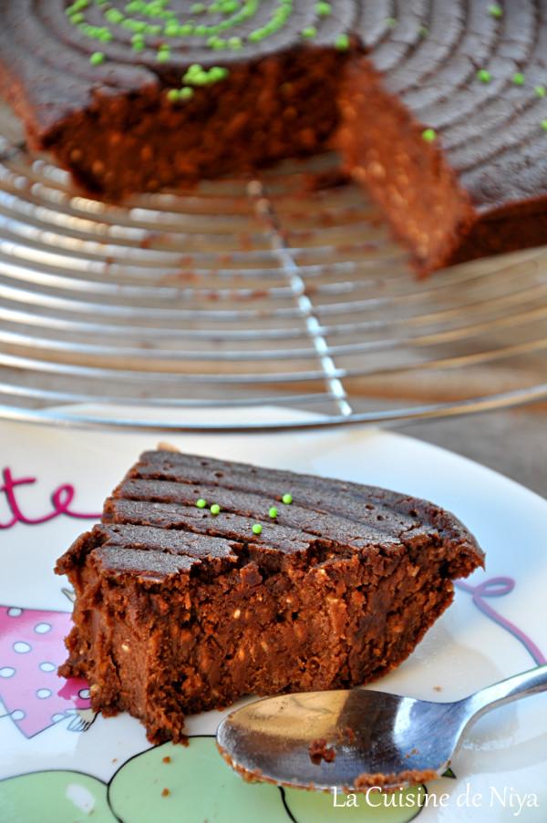 Prendre le temps - Gâteau au chocolat et graines de chia végane - vegan