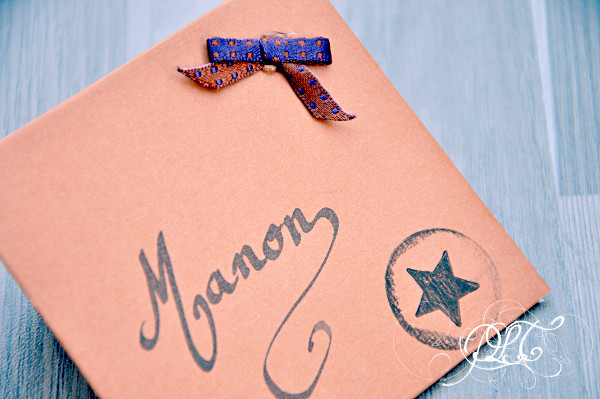 Prendre le temps - Cartons Invitations Anniversaire 6 ans - DIY