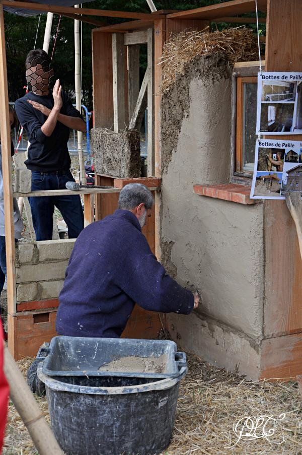 Prendre le temps - Foire Biô Garonne - Toulouse - construction paille et terre